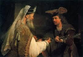 de gelder ahimelech giving goliath u0027s sword to david