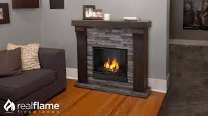 Real Flame Avondale Electric Fireplace Mantel Youtube