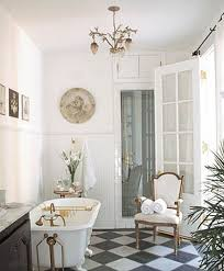 Black And White Checkered Tile Bathroom Marble Pattern Floors