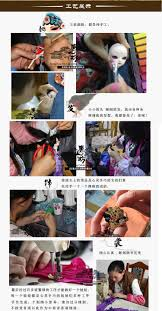Decoration Arts crafts girl ts married The characteristics of