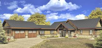 Autumn Bay Log Homes Cabins And Log Home Floor Plans - Custom ranch home designs