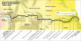 road map up up maps of the union pacific