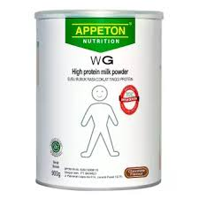 appeton weight gain adult coklat 900 gr susu tinggi protein rasa