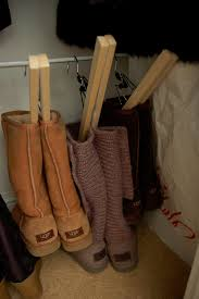 organizing your shoe closet boot edition