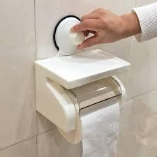 Bathroom Tissue Storage Toilet Bathroom Tissue Boxes Napkin Wall Strong Sucker
