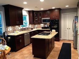 glazed maple kitchen cabinets adorable 50 maple kitchen cabinets with black appliances design