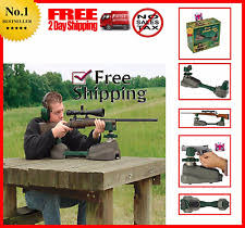 Portable Bench Rest Shooting Stand Gun Shooting Rest Bench Rifle Pistol Cradle Fire Arm Holder Stand