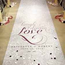 personalized wedding aisle runner expressions personalized aisle runner aisle runners wedding