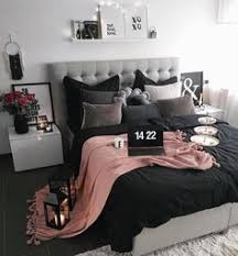 Pink And Black Bedroom Designs Room Black Gold And Pink Black Paint Feature Wall Black
