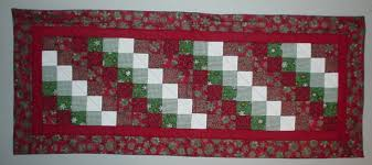 Christmas Plaid Table Runner by Quilted With Tlc Quilt Gallery Table Runner Quilts