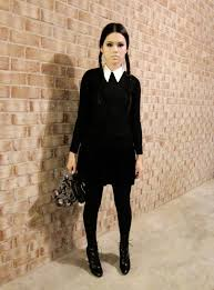 Halloween Costumes Ideas Women Halloween Women Costume Ideas Wednesday Addams 2017
