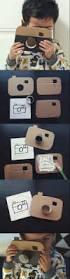 diy cómo hacer una cámara de juguete con cartón cardboard
