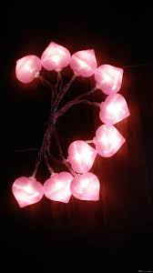 heart shaped christmas lights selling pink heart shaped led string lights battery operated