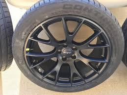 chrysler 300 hellcat swap pack charger with new hellcat wheels