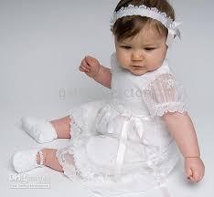 catholic baptism dresses wholesale lovely sleeved ankle length white lace cotton