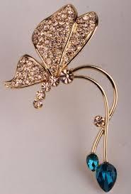 ear wrap butterfly left ear wrap cuff earrings australian
