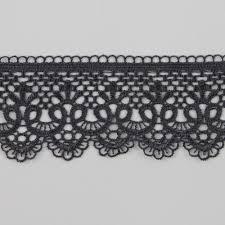 black lace trim 3 yards 5 6 cm black lace trim applique cord lace fabric sewing