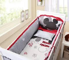 Mickey Mouse Crib Bedding Set Walmart Disney Lets Go Mickey Ii 4 Crib Bedding Set Walmart