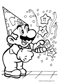 super mario coloring pages super mario coloring pages 023 png