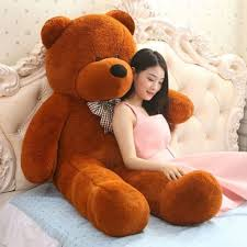 big bears for valentines day 47 brown teddy plush big stuffed