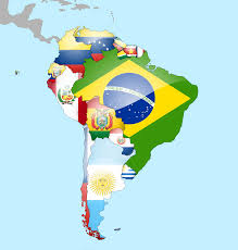 Soth America Map by South America Flag Map South America Turismo And Tourism