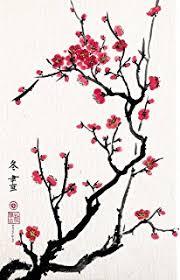 amazon com birds on the cherry blossom tree colored