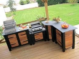 cuisine d ext駻ieur meuble cuisine exterieure bois meuble cuisine d ete meuble cuisine