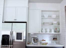 how do you fill the gap between kitchen cabinets and ceiling filling in that space above the kitchen cabinets
