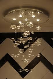 Diy Glass Bubble Chandelier Interior Creative Diy Paper Round Chandelier Idea Attractive