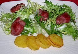 cuisiner les gesiers salade de gésiers de canard et pommes dorées