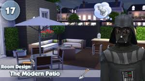 Modern Patio Design The Sims 4 Room Design The Modern Patio Youtube