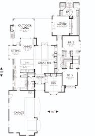 traditional style house plan 3 beds 3 5 baths 2904 sq ft plan