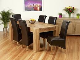 Round Formal Dining Room Sets For 8 by Dining Table Solid Oak Dining Table And 8 Chairs For Sale