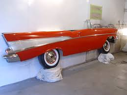 57 chevy wall hanging what a great base for a wall ledge or