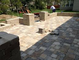 Cost Paver Patio Paver Patio Costs Per Square Foot Home Design Ideas