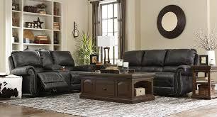 Reclining Living Room Set Milhaven Black Power Reclining Living Room Set Living Room Sets