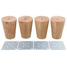 pieds de canapé bqlzr bois couleur conique fiable des armoires de meubles en bois