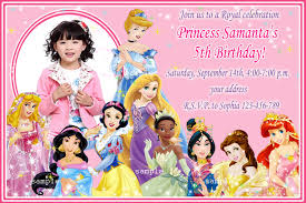 disney princess birthday invitations plumegiant com