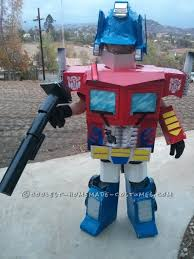 Transformer Halloween Costume Battle Scarred Optimus Prime Costume Boy Optimus Prime