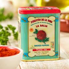 smoky paprika tins of hot smoked paprika by la dalia