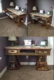 am agement mobilier bureau 23 diy computer desk ideas that more spirit work pallet wood
