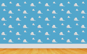 toy story room wall pattern wallpaper 5815