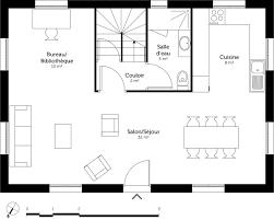 cuisine et salon dans la meme cuisine et salon dans la meme 14 plan au sol du rez de