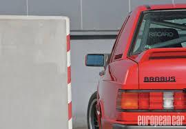 brabus 190e 3 6 european car magazine