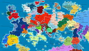 map continents revrovia continents political map by sturm94 on deviantart