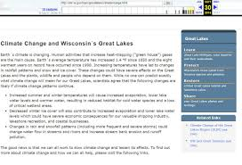 Wisconsin Dnr Lake Maps by Why Was Climate Change Language Stripped From Dnr Web Page