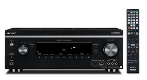 home theater receiver with blu ray player amazon com sony str da2800es 7 2 channel 4k av receiver with