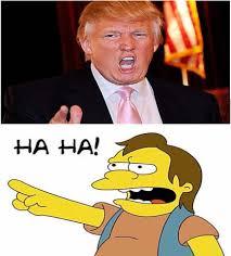 Haha Meme - trump ha ha blank template imgflip