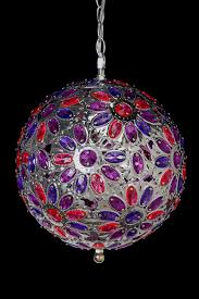 Ornament Chandelier Diy by Purple Pink Crystal Ball Chandelier Fashionable Furniture