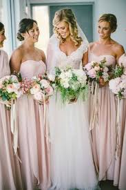 soft pink bridesmaid dresses sandi pointe library of collections